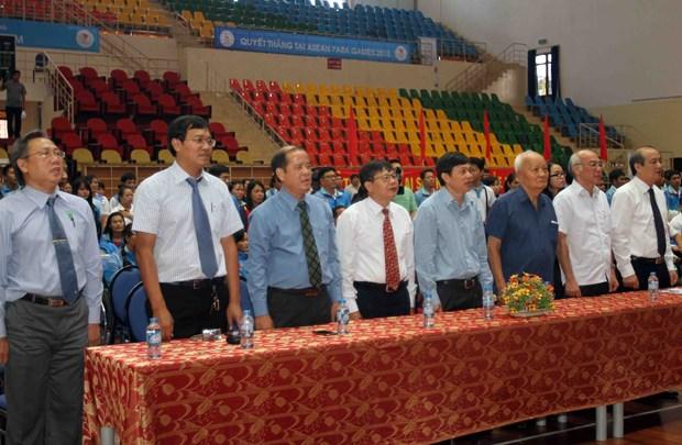 Les ASEAN ParaGames 8 debutent aujourd'hui a Singapour hinh anh 1