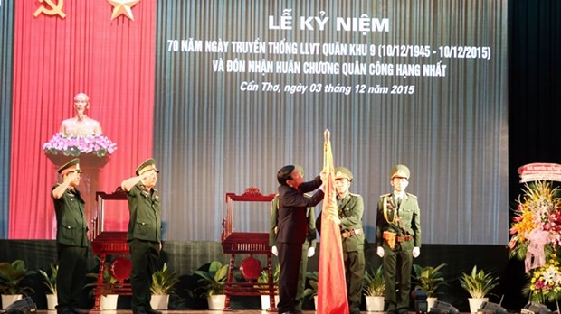 La 9e Zone militaire fete son 70e anniversaire hinh anh 1