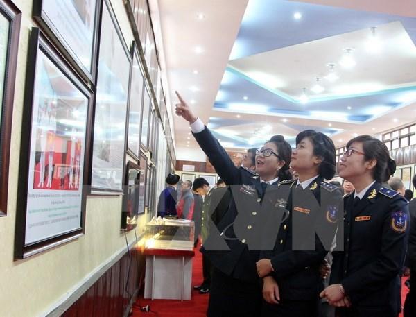 Quang Nam : exposition de cartes et d'archives sur Hoang Sa et Truong Sa hinh anh 1
