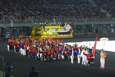 ASEAN Para Games : le Vietnam dans les starting-blocks hinh anh 1