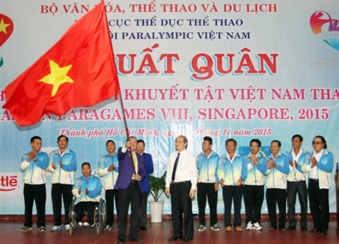 ASEAN Para Games : le Vietnam dans les starting-blocks hinh anh 2