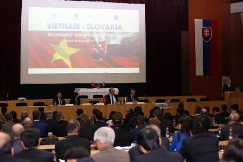 Forum de cooperation economique Vietnam-Slovaquie hinh anh 1