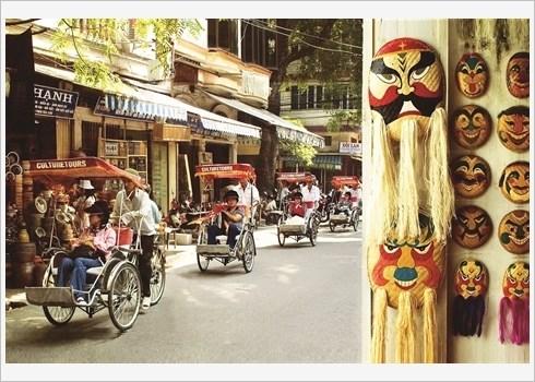 Decouvrir Hanoi au rythme lent du cyclo-pousse hinh anh 1