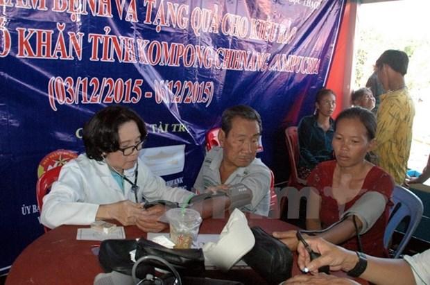 Consultations medicales gratuites pour les Viet kieu cambodgiens hinh anh 1