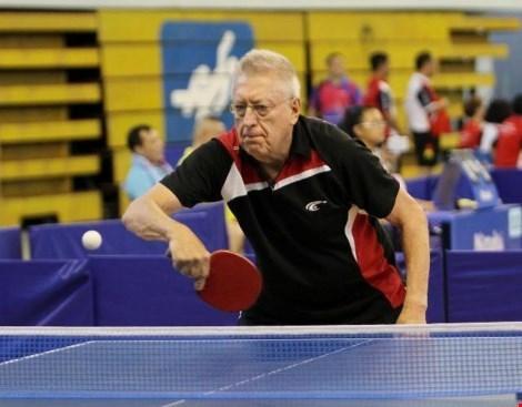 Fin des Championnats de tennis de table veterans d'Asie-Pacifique a HCM-Ville hinh anh 1