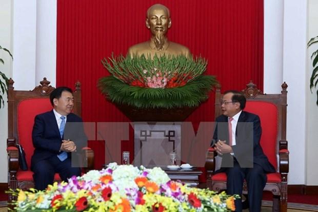 Le Vietnam attache de l'importance aux relations avec la Chine hinh anh 1
