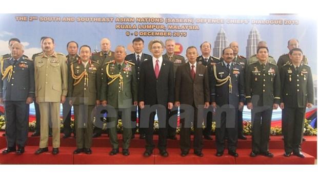 Le Vietnam au 2e Dialogue des chefs de la defense de la SASEAN hinh anh 1