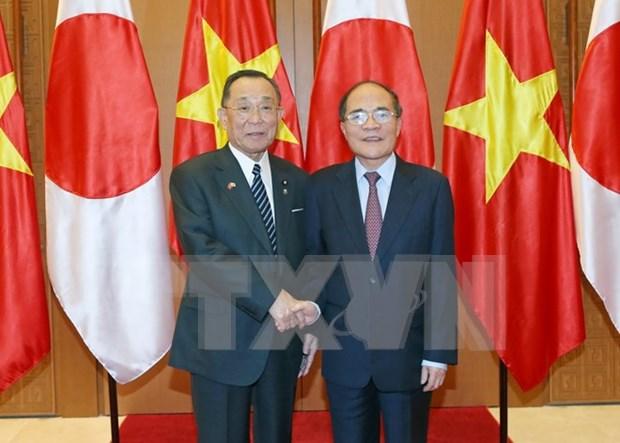 Vietnam - Japon: Renforcement de la cooperation entre les deux organes legislatifs hinh anh 1