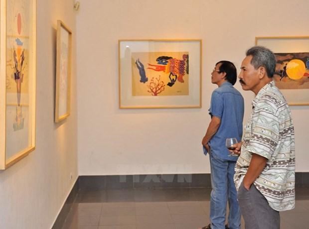 Exposition nationale des Beaux-arts du Vietnam 2015 hinh anh 1