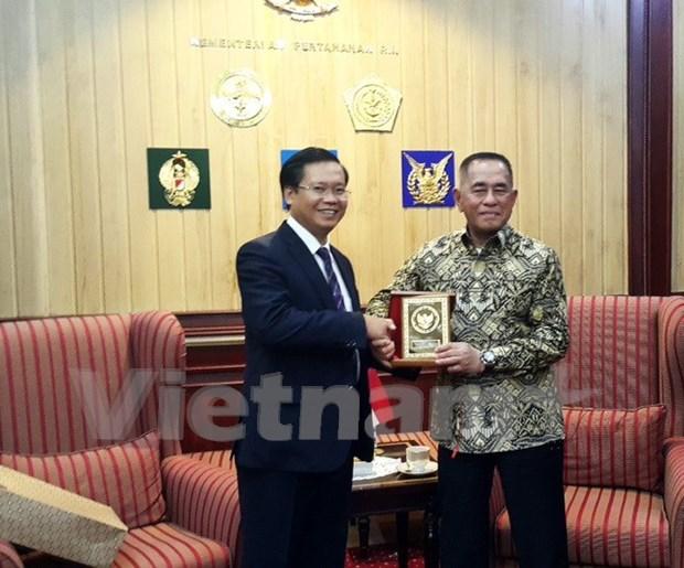 La cooperation dans la defense est un pilier du partenariat strategique Vietnam-Indonesie hinh anh 1