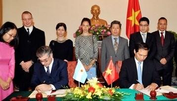Le Vietnam et l'Argentine resserrent leurs relations hinh anh 1