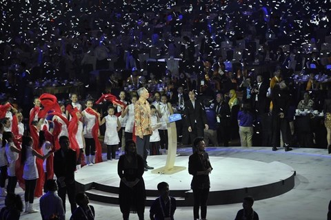 ASEAN Para Games 2015 : le Vietnam occupe la 4e place hinh anh 1