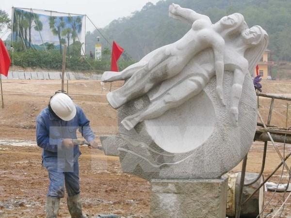 Camp international de sculptures a Ho Chi Minh-Ville hinh anh 1