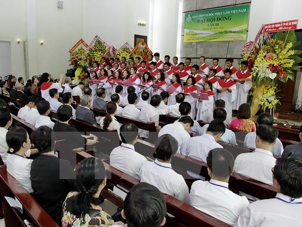 Debut de la 3e Assemblee generale de l'Eglise adventiste du Vietnam hinh anh 1