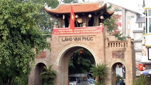 Ouverture de la 11e Foire des villages de metiers du Vietnam 2015 hinh anh 1