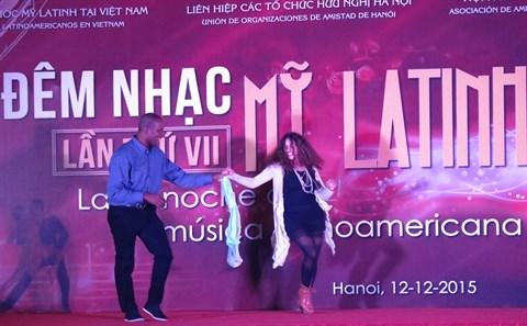 Le 7e spectacle musical de l'Amerique latine a Hanoi hinh anh 1