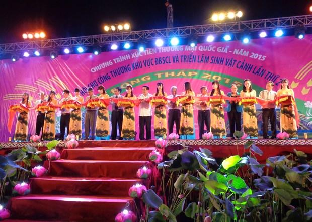 Plus de 100.000 visiteurs a des foires du Delta du Mekong hinh anh 1