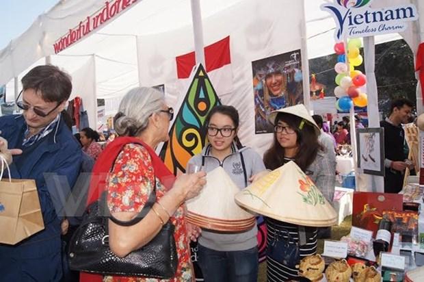 Le Vietnam present a la foire caritative internationale Bazaar en Inde hinh anh 1