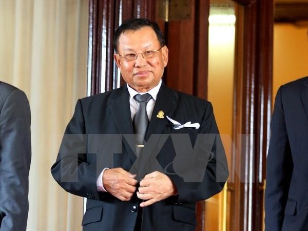 Le president du Senat cambodgien commence sa visite officielle au Vietnam hinh anh 1
