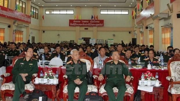 Vietnam et Laos cooperent dans la medecine militaire hinh anh 1