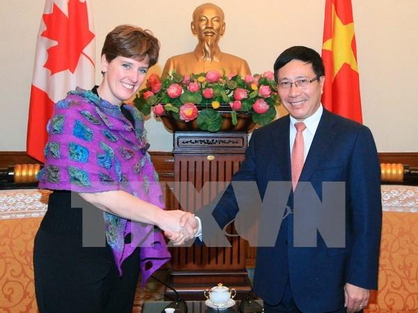 Le Canada souhaite approfondir sa cooperation multiforme avec le Vietnam hinh anh 1