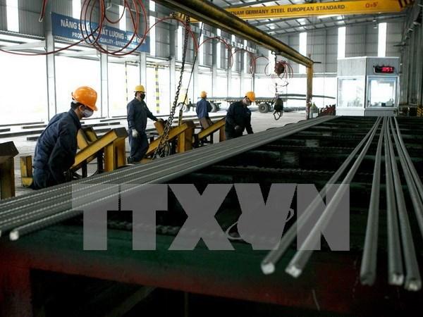 Pres de 600.000 tonnes d'acier vendues en novembre hinh anh 1