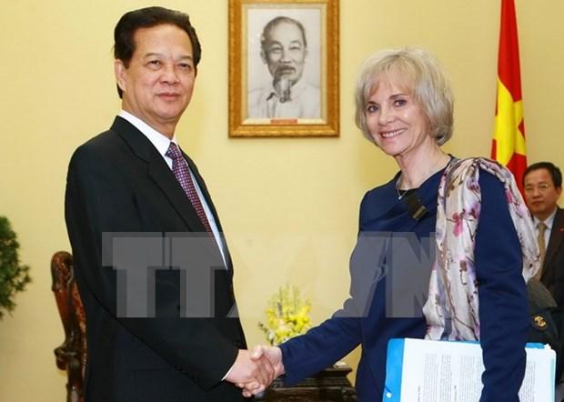 Le Vietnam souhaite renforcer son partenariat strategique avec la France hinh anh 1