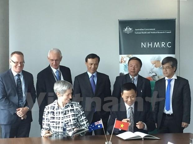 Vietnam et Australie debutent un programme de cooperation dans la sante hinh anh 1