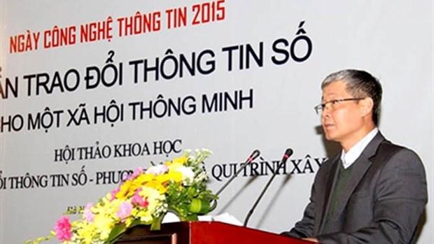 Hanoi : colloque sur l'etablissement de normes pour les echanges de donnees numeriques hinh anh 1