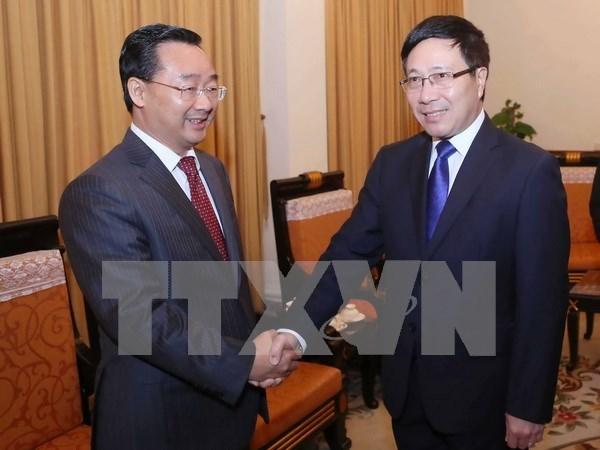 Le vice-PM Pham Binh Minh plaide pour les liens d'amitie Vietnam-Guangxi hinh anh 1