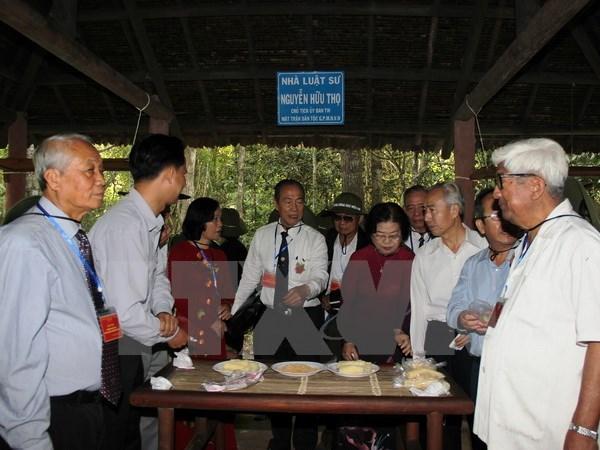 Celebration du 55e anniversaire du Front national pour la liberation du Sud Vietnam hinh anh 1