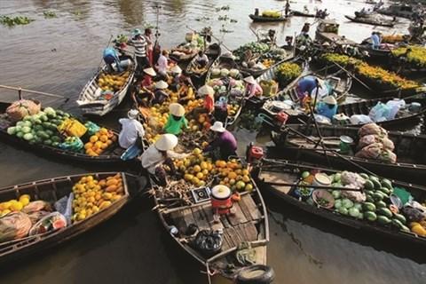 Cinq marches flottants celebres du delta du Mekong hinh anh 1