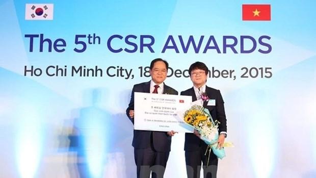 Le Vietnam honore les entreprises sud-coreennes hinh anh 1