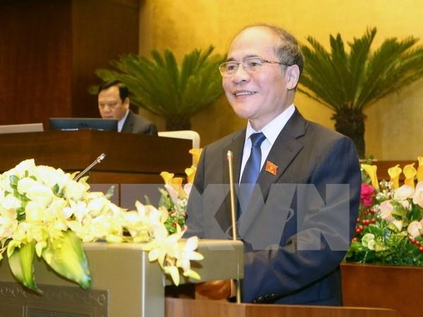 Nguyen Sinh Hung effectuera une visite officielle d'amitie en Chine hinh anh 1