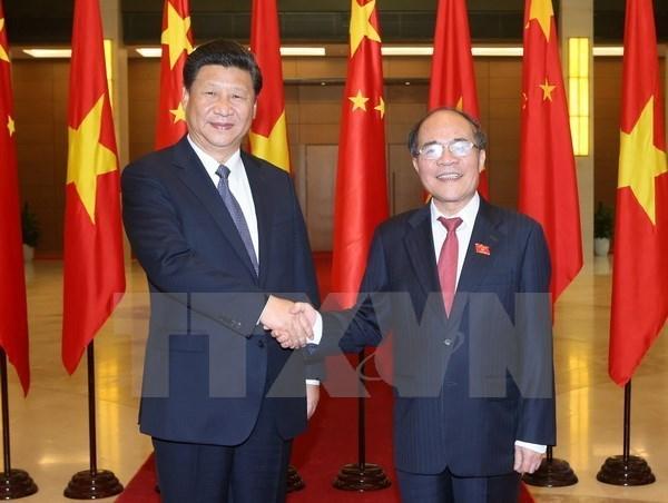 Impulsion du developpement stable et sain des relations Vietnam-Chine hinh anh 1