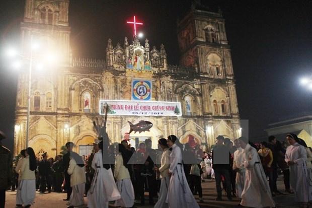 Vœux de Noel du FPV aux catholiques de Kon Tum hinh anh 1