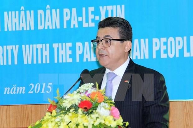 Journee de solidarite avec les Palestiniens a Hanoi hinh anh 1