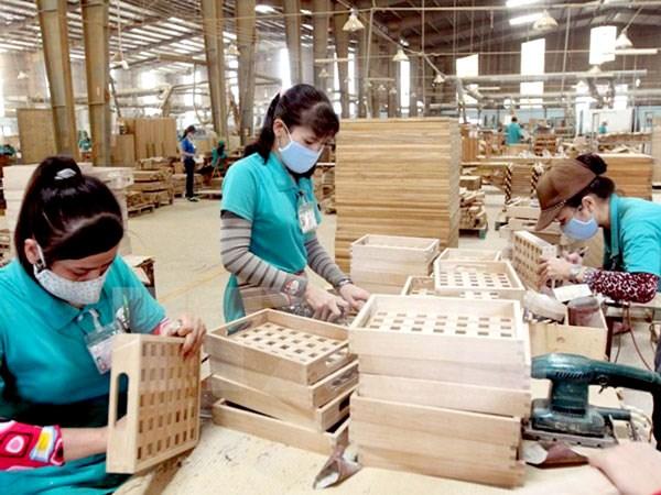 Hausse des exportations vietnamiennes de bois en 2015 hinh anh 1