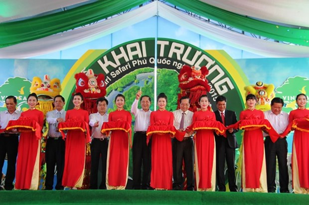 Inauguration du Parc Vinpearl Safari Phu Quoc hinh anh 1