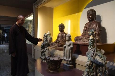 Inauguration du premier musee de la culture bouddhique au Vietnam hinh anh 1