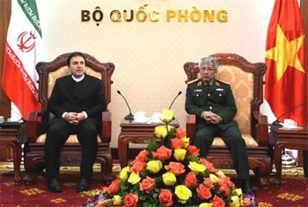 Vietnam et Iran renforcent leur cooperation dans la defense hinh anh 1