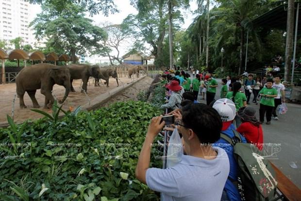 Le jardin zoologique et botanique de Saigon fete ses 150 ans hinh anh 1