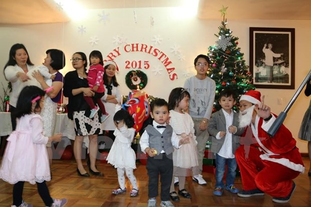 L'ambassade du Vietnam au Mexique salue le Nouvel An hinh anh 1