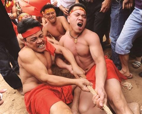 Le jeu de tir a la corde, patrimoine culturel mondial hinh anh 2