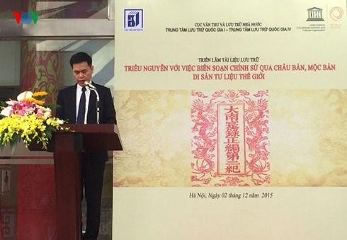A decouvrir : le patrimoine documentaire de la dynastie des Nguyen hinh anh 1