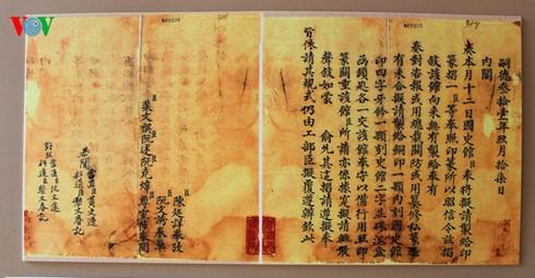 A decouvrir : le patrimoine documentaire de la dynastie des Nguyen hinh anh 3