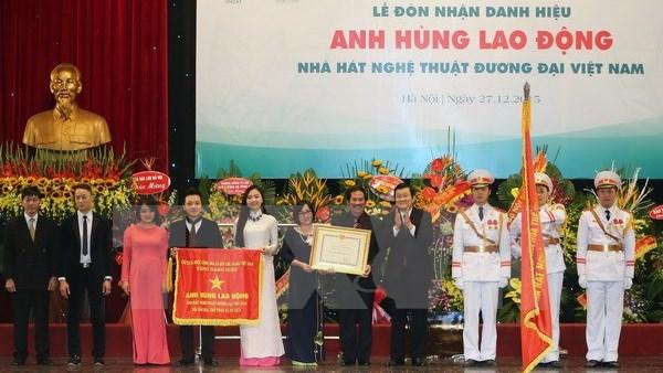 L'Hopital d'Amitie et le Theatre des arts contemporains promus heros du travail hinh anh 1