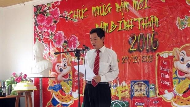 Les Vietnamiens en Angola saluent le Nouvel An hinh anh 1