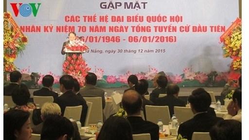 70 ans des elections legislatives : rencontre avec d'anciens deputes de Da Nang hinh anh 1