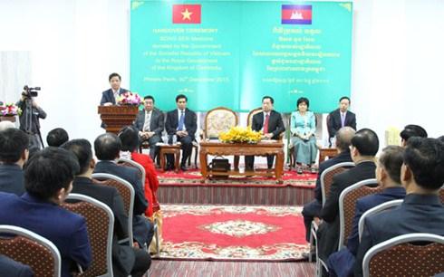 Aide vietnamienne pour le Cambodge dans la lutte contre la drogue hinh anh 1